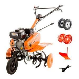 Tocator de paie Caravaggi TPF 15, Motor pe benzina Honda 20,8 CP/15,5 kW GX 630
